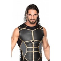 WWE Seth Rollins Leather Vest Jacket For Sale