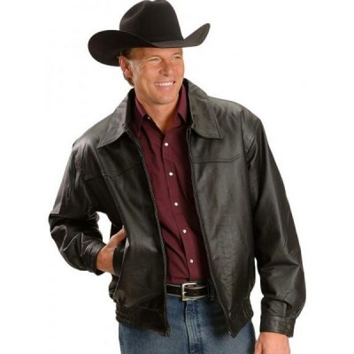 Wrestler John Layfield Leather Jacket | Leather Jacket For Mens