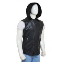 Aj Style (Allen Neal Jones) Vest Leather Vest | Black Leather Vest