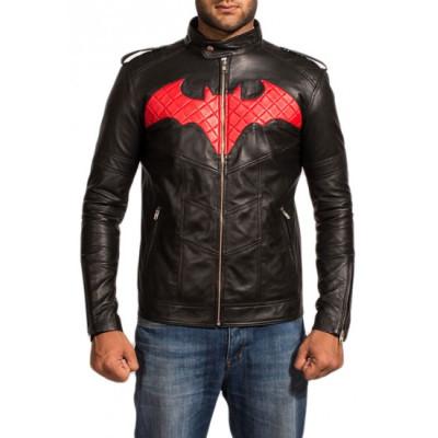 Batman Black Leather Jacket For sale | New Arrival