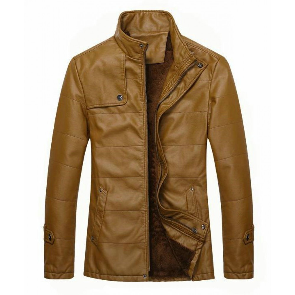 New Mens Distressed Brown Leather Jacket | Distressed Jackets