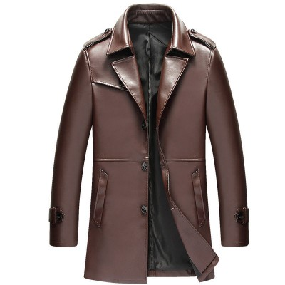 Mens New Brown Leather Jacket For Bikers | Distressed Leather Jacket