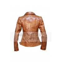 New Design Womens Leather jacket | Women Brown Leather Jackets