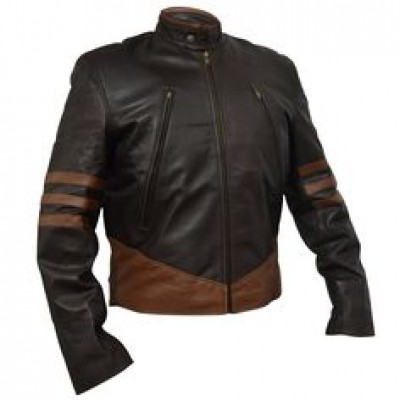 NEW X-MEN WOLVERINE LEATHER JACKET FOR SALE | New Arrival