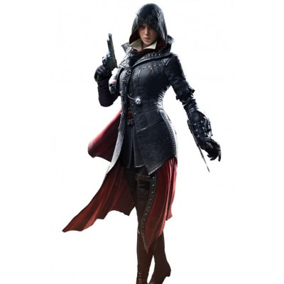 New Assassin's Creed Syndicate Video Game Evie Frye Coat | Hoodie Ladies Coat
