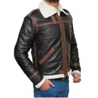 Men's New Resident Evil 4 Leon Kennedy Brown Real Leather Jacket | Men's Leather Jacket