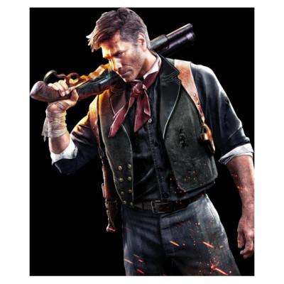 Bioshock Infinite Gamer Geniune Leather Vest | Games Leather Vest