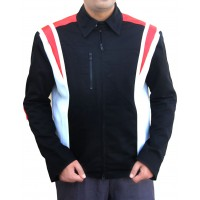 Eddie The Eagle Hugh Jackman Bronson Peary Black jacket | Superstar Jackets
