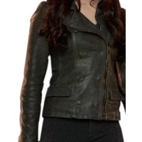 Kristen Stewart Bella swan Brown Jacket | Distressed Jackets