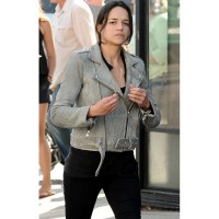 Fast 8 Letty Ortiz Biker Jacket | Women's Leather Jacket