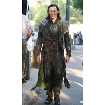 The Avengers Loki Cosplay Costume Coat | Avengers Costume
