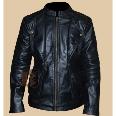 The Mortal Instruments City of Bones Jacket | Black Leather Jackets