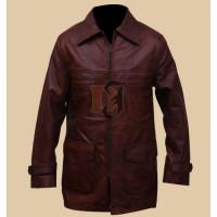 Tuvia Bielski Defiance Movie Daniel Craig Beron Leather Coat