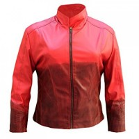 Scarlet Witch Jacket Avengers Age of Ultron Movie Leather Jacket | Movie Leather Jacket