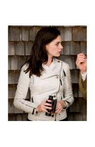 Get Smart Movie Anne Hathaway White Jacket | Girls White Jackets