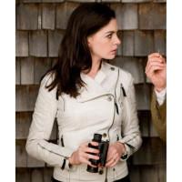 Get Smart Movie Anne Hathaway White Jacket | Girls White Jackets