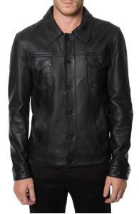 ANTHONY MACKIE SAM WILSON FALCON Leather JACKET | Black jackets