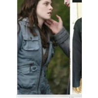 Bella Swan Leather Jacket Twilight | Women Blue Jackets