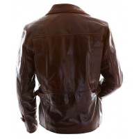 CHRIS EVAN CAPTAIN AMERICA LEATHER  JACKET | Distressed Jackets