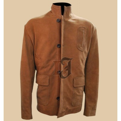 Stephen Amell Arrow Brown Jacket | Women Distressed Jacket