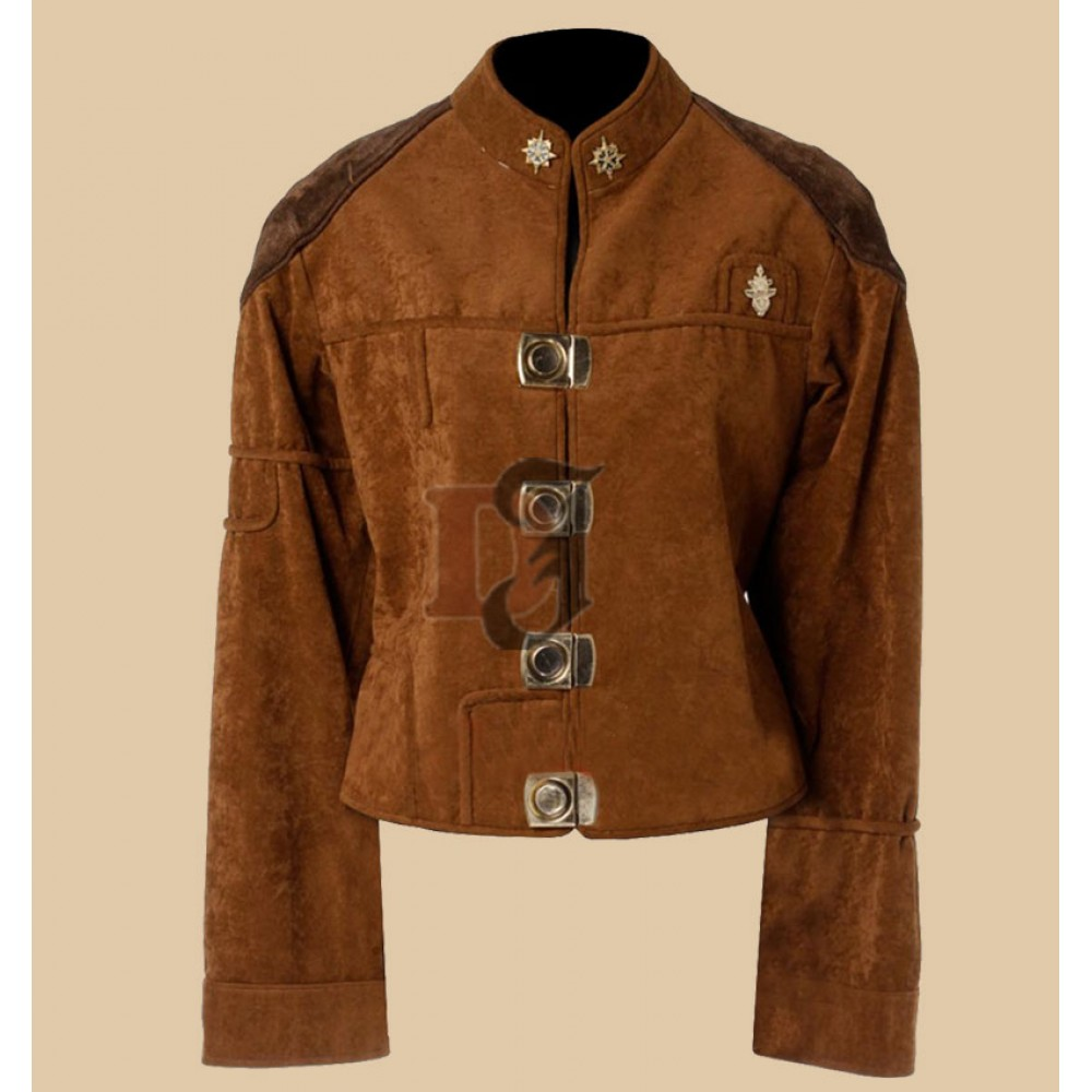 Battlestar Galactica Colonial Warrior leather Jacket |Movie Leater Jackets