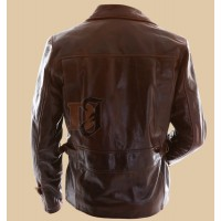 Captain America the First Avenger Motorcycle Leather Jacket | Best Movie Leather Jackets