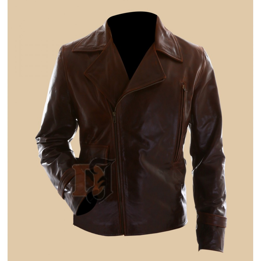 Buy Captain America The First Avenger Motorcycle Leather Jacket