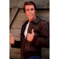 Happy Days Movie Fonzie Bomber Leather Jacket | Brown Jackets