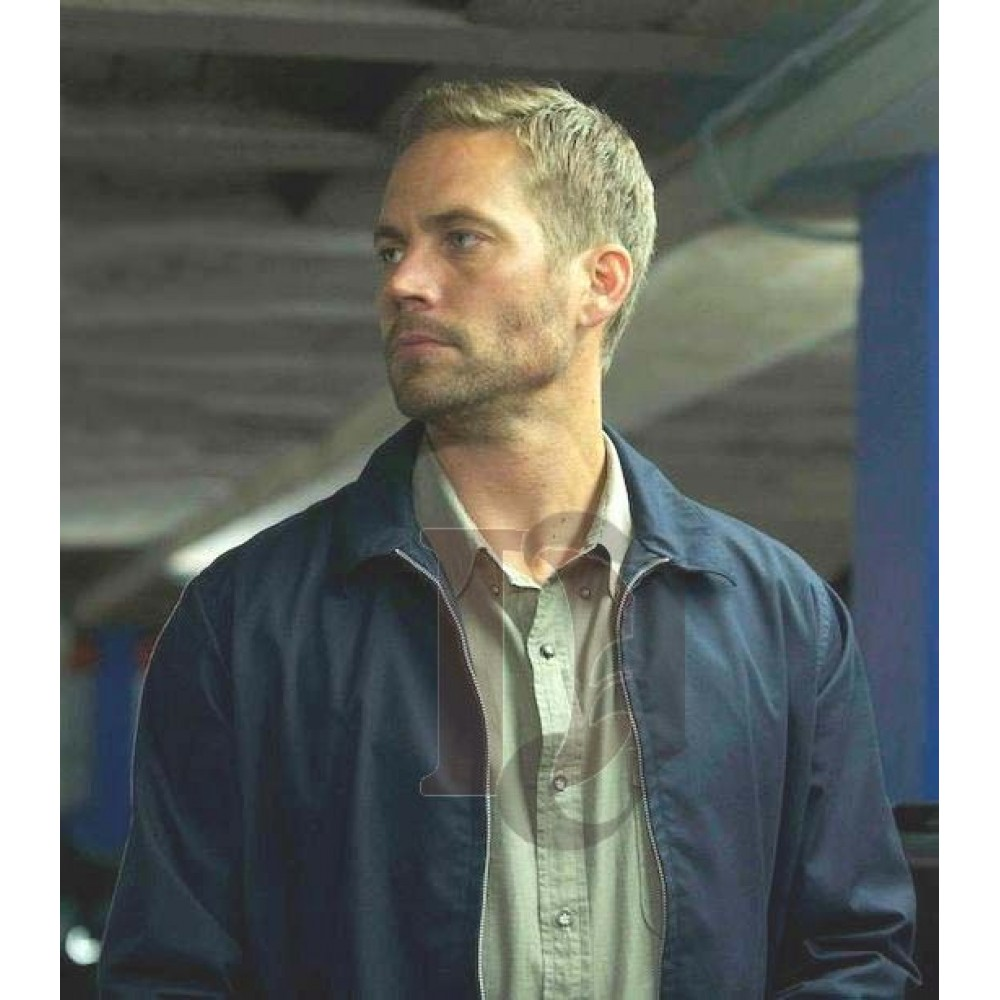 Fast And Furious 7 Paul Walker Blue Jacket | Movies Jackets