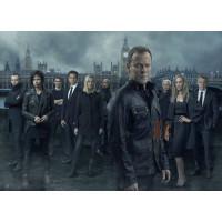 Kiefer Sutherland (Jack Bauer) Black Jacket For Mens | Black Leather Jacket