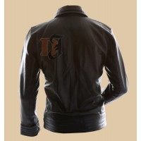 Bourne Legacy Jeremy Renner Stylish Leather Jacket | Mens Black Jackets
