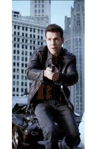 Chicago PD Detective Jon Seda (Antonio Dawson) Leather Jacket
