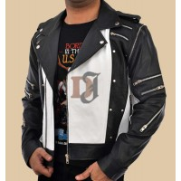 Michael Jackson 1984 Pepsi Max Commercial World Tour Jacket | White Jackets
