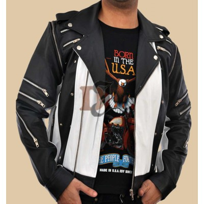 Michael Jackson 1984 Pepsi Max Commercial World Tour Jacket | White Jackets
