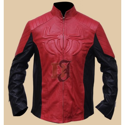 Red and Black Spiderman Suit Jacket Costume | Movies Jackets
