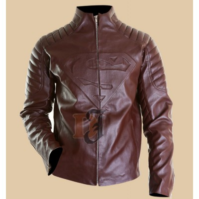 Smallville Superman Clark Kent Leather Jacket | Superman Jackets