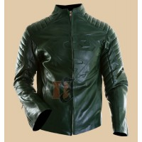 Superman Clark Kent Green Leather Jacket | Spider Costume jacket