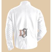 Smallville Superman Clark Kent Jacket | White Leather Jacket