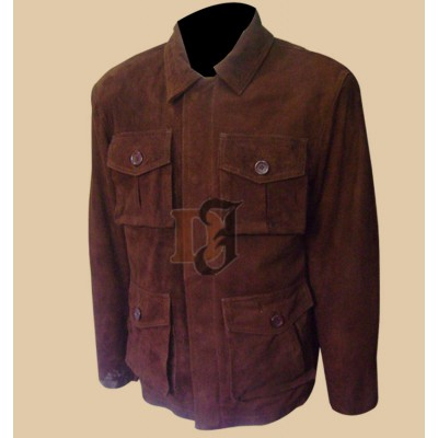 Supernatural Dean Winchester S7  Leather Jacket | Dark Brown Leather Jacket