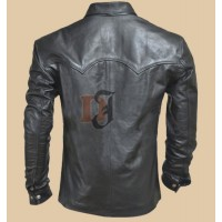 The Walking Dead Governor Black Leather Jacket Season 4 | Distressed Jackets