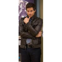 Brooklyn 99 Andy Samberg (Jack Peralta) Leather Jacket | Black Leather Jacket