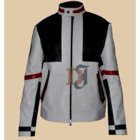 Designer Chaser Box White Mens Biker Leather Jacket | Motorcycle Leather Jacket