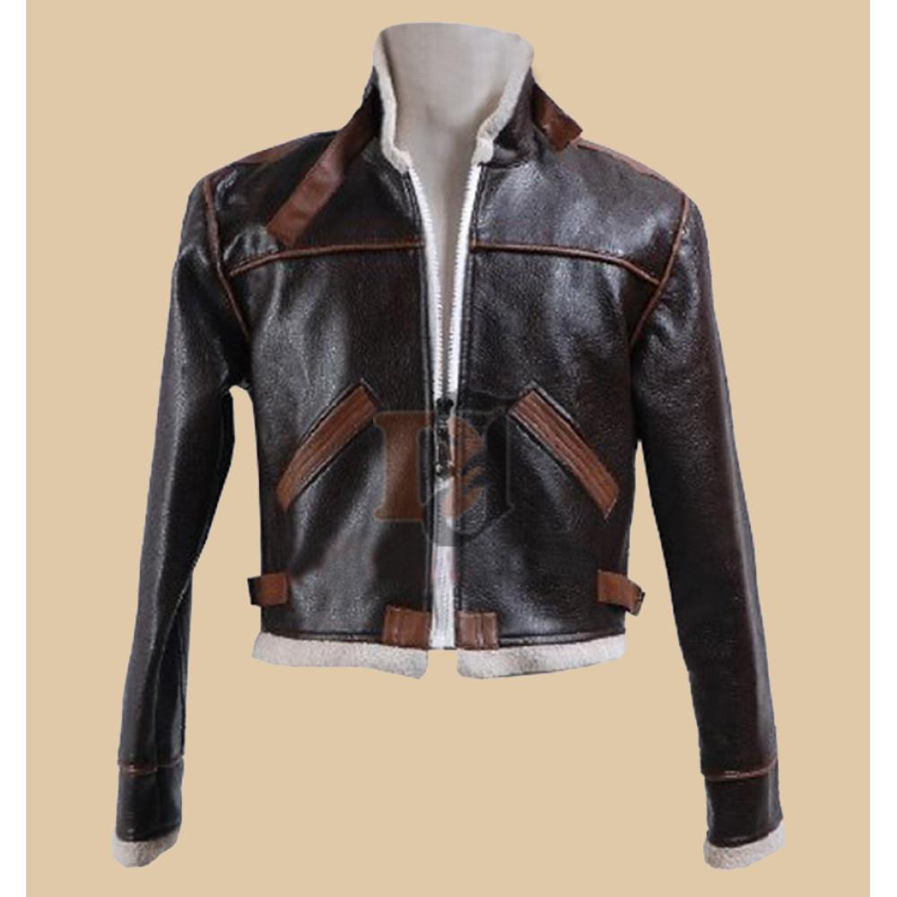 Buy Resident Evil 4 Game Leon Kennedy Bomber Jacket Sale