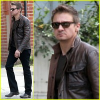 Jeremy Renner Stylish Brown Leather Jacket | Distressed Jackets