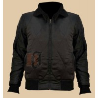 Scorpion Black Drive Jacket | Ryan Gosling Jacket