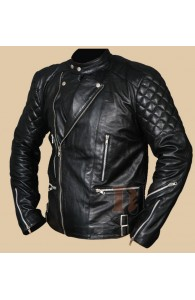 Johnny Strabler Marlon Brando Jacket - The Wild One Motorcycle Jacket