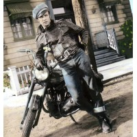 Johnny Strabler Marlon Brando Jacket - The Wild One Motorcycle Jacket