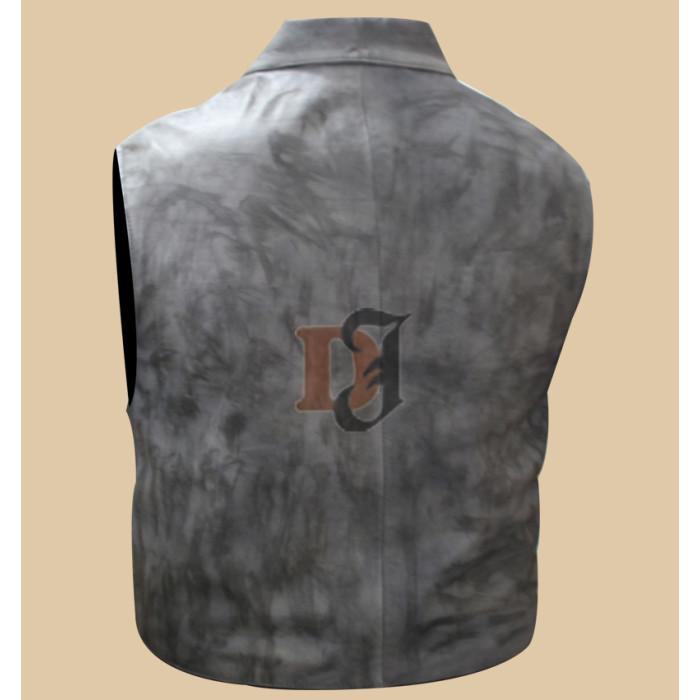 23eab9309653a ... Cullen Bohannan Hell on Wheels Stylish Leather Vest