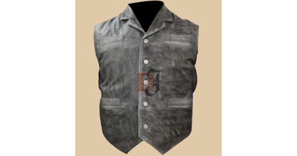 7ed4da19d814e Buy Cullen Bohannan Hell on Wheels Stylish Leather Vest