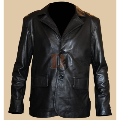 Dark Blue Kurt Russell Movie Leather Jacket | Movies Jackets